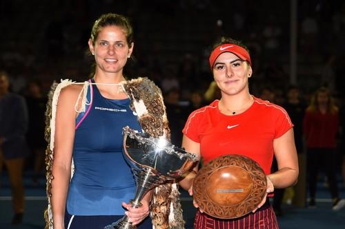Гёргес выиграла турнир в Окленде, переиграв 18-летнюю Андрееску