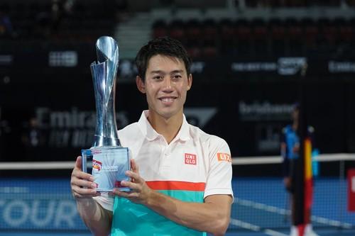 Нисикори стал победителем турнира в Брисбене