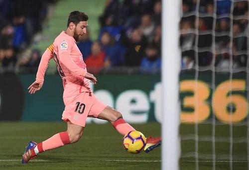 Месси вышел на второе место по голам в ворота Хетафе в Примере