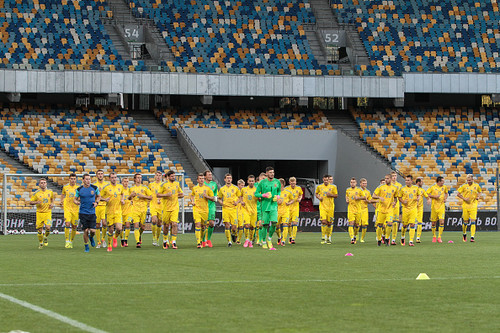 Сборная Украины представит новую форму во вторник