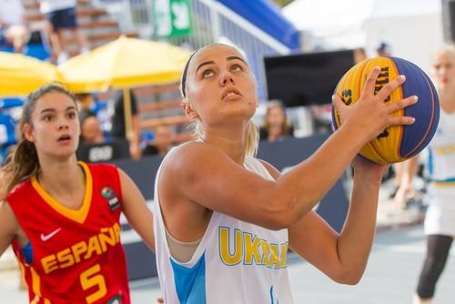 Женская сборная Украины U-18 завершила выступление на Евробаскете 3х3