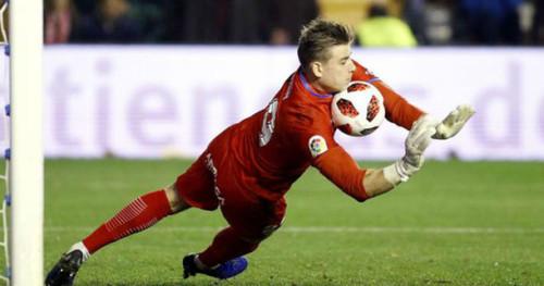 Леганес не против продлить аренду Лунина на новый сезон
