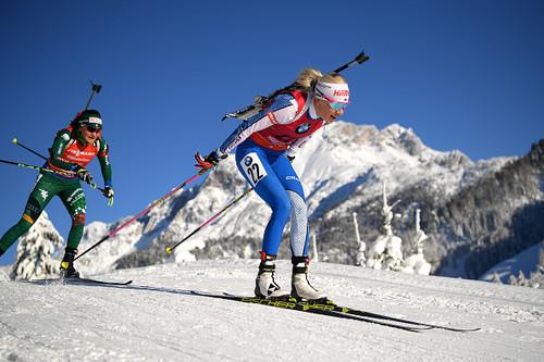 Стал известен состав женской сборной Украины на спринт в Оберхофе