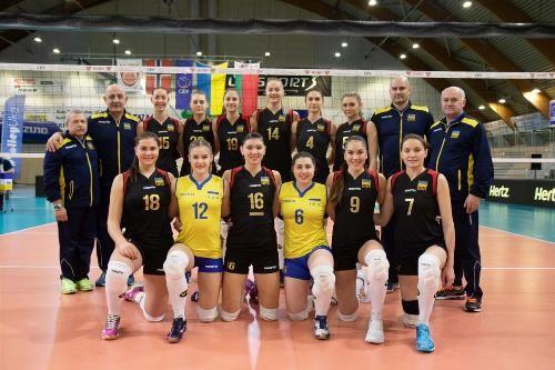 Украинские волейболистки выиграли у сборной Норвегии