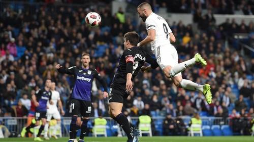 Реал Мадрид разгромил Леганес в первой игре 1/8 Кубка Испании