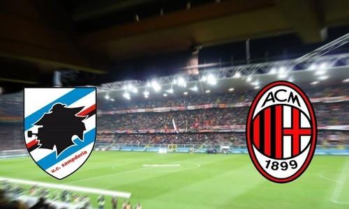 Где смотреть онлайн матч Кубка Италии Сампдория — Милан