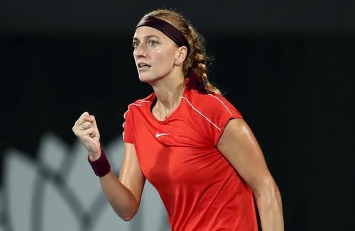 Квитова стала второй финалисткой турнира в Сиднее