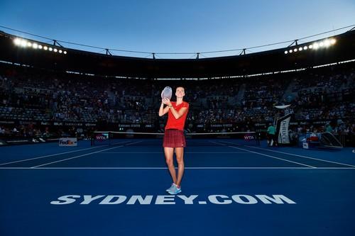 Квитова выиграла турнир в Сиднее и обошла Свитолину