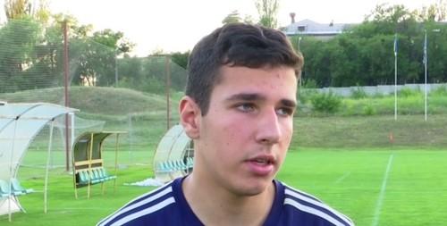 16-летний вратарь Нещерет: «Приятно, что в Динамо обратили внимание»