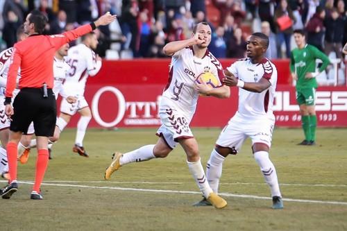 Зозуля голом в конце матча спас Альбасете от поражения