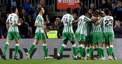 Где смотреть онлайн матч чемпионата Испании Бетис - Реал