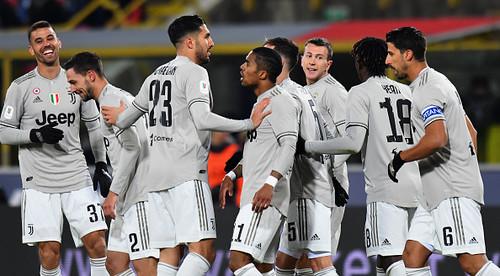 Ювентус победил Болонью и вышел в 1/4 финала Кубка Италии