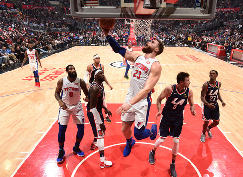 Данки Гриффина и Драммонда в топ-10 дня НБА