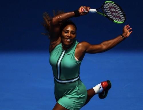 Australian Open. Серена Уильямс легко преодолела первый круг