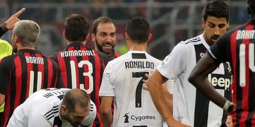 Милан ювентус последний матч смотреть