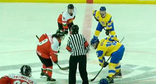 Женская сборная Украины по хоккею играет в отборе к ЧМ. Календарь