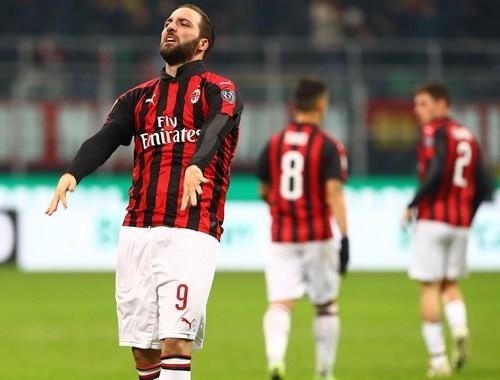 Игуаин может не сыграть в матче за Суперкубок Италии