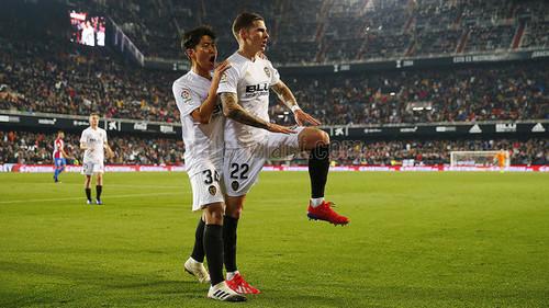 Валенсия разгромила Спортинг и вышла в четвертьфинал Кубка Испании