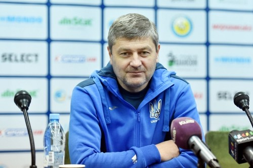Косенко назвал состав сборной Украины на матчи против Чехии