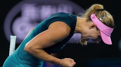 Кербер одержала сотую победу на турнирах Grand Slam