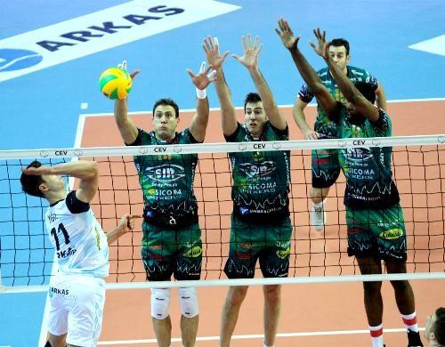 Возобновились матчи мужской Лиги чемпионов по волейболу