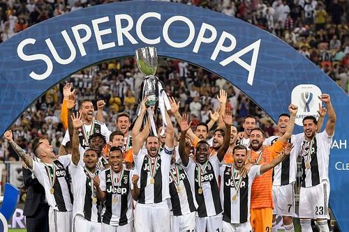Ювентус стал лидером по числу побед в Суперкубке Италии