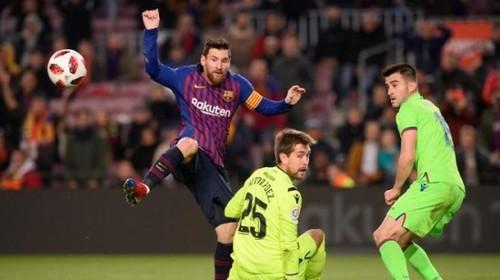 Месси и Дембеле вывели Барселону в 1/4 финала Кубка Испании