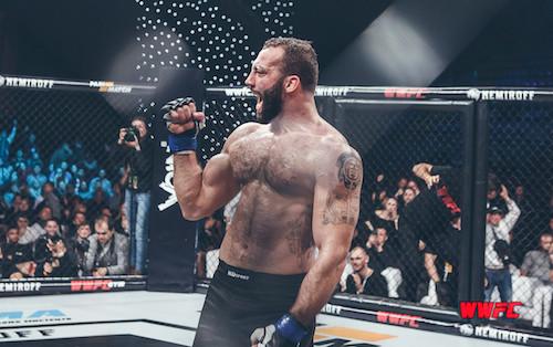 Украинский боец из WWFC перешел в UFC