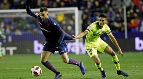 Леванте рассчитывает на дисквалификацию Барселоны из Кубка Испании