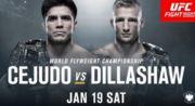 UFC Fight Night 143: Диллашоу и Сехудо взяли вес