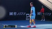 Украинец Ваншельбойм вылетел с юношеского разряда Australian Open