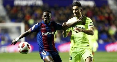 Барселона остается в Кубке Испании, протест Леванте отклонен