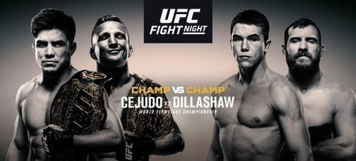 UFC Fight Night 143. Прогноз и анонс турнира