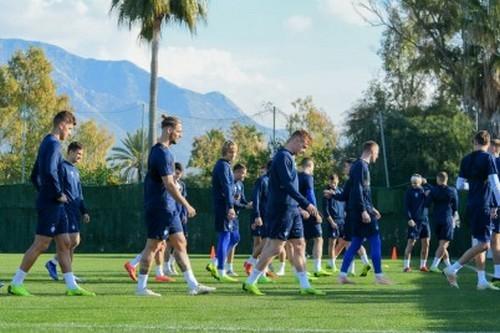 Динамо в Испании: дебютная тренировка Франа Соля