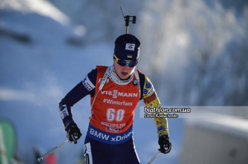 Украинская биатлонистка Абрамова не стартовала в трех гонках 2019 года