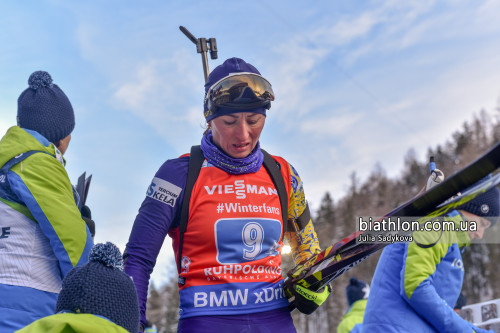 Женская сборная Украины установила антирекорд в эстафете