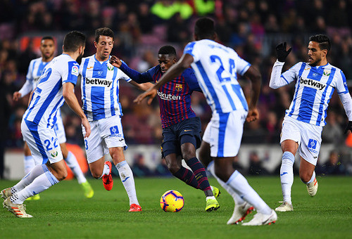 Барселона - Леганес - 3:1. Текстовая трансляция матча