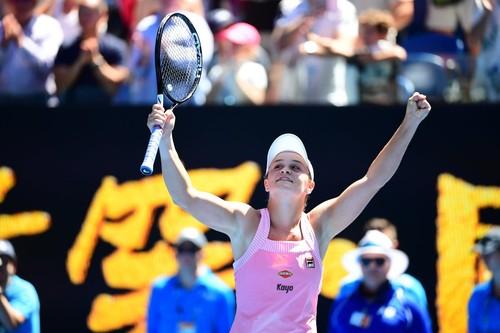 Australian Open. Барти не пустила Шарапову в четвертьфинал