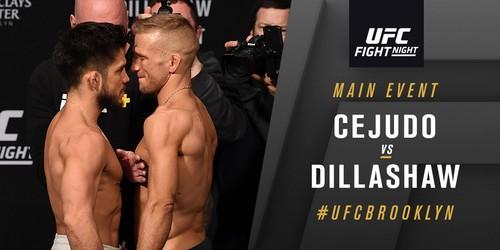 UFC Fight Night 143: Сехудо нокаутировал Диллашоу в первом раунде