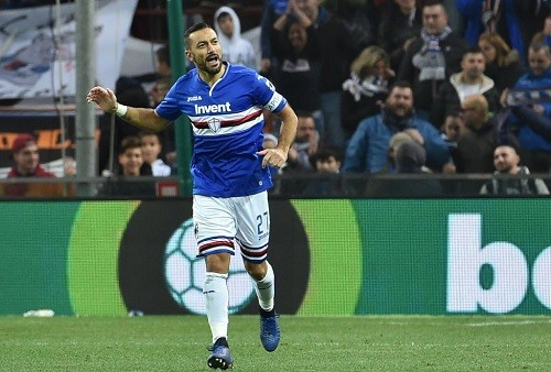 Квальярелла забил в десяти матчах Серии А подряд