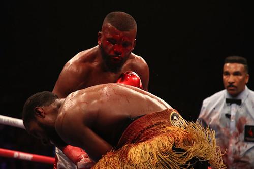 Баду Джек показал ужасную рану после боя с Маркусом Брауном