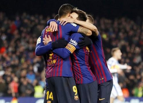 Барселона — Леганес — 3:1. Видео голов и обзор матча