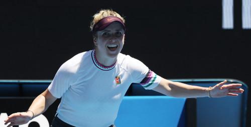 Элина СВИТОЛИНА: «Хорошо работала, поэтому вышла в 1/4 финала»