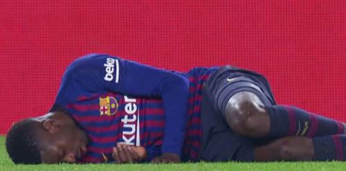 Барселона вновь осталась без Дембеле
