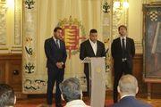 ФК Реал Вальядолид. Роналдо (в центре)