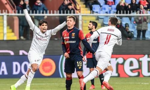 Дженоа – Милан – 0:2. Видео голов и обзор матча
