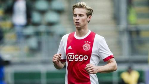 Де Йонг может стать самым дорогим голландским футболистом в истории