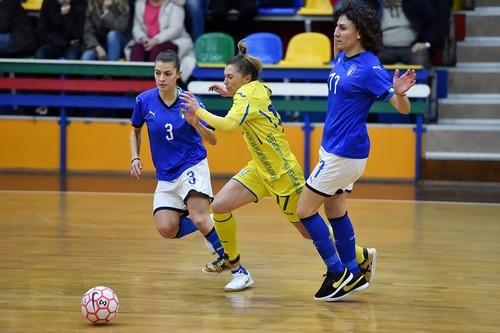 Жіноча збірна України поступилася Італії в першому спарингу