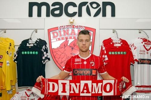Экс-защитник Днепра подписал контракт с Динамо Бухарест