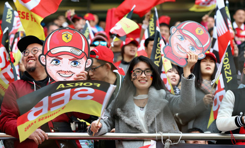Формула-1 нацелена на два этапа в Китае